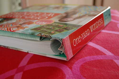 One-Yard Wonders book (Photo by iHanna - Hanna Andersson)