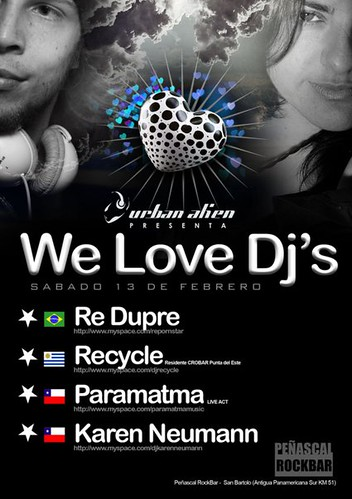 We Love Dj´s - Peñascal Rockbar