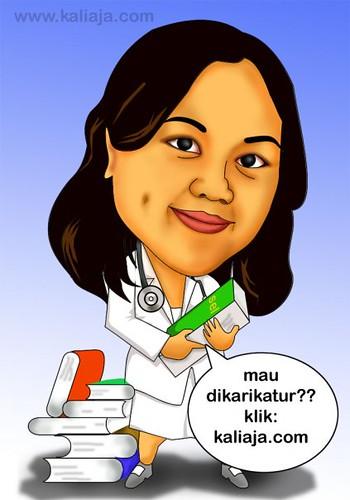 karikatur dokter