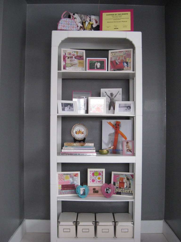 Guest Bedroom / Bookcase / Feb 10'