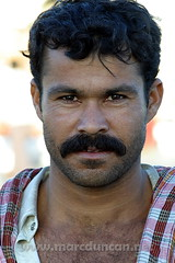 Portrait of an Iranian sailor (MarcInTurkey) Tags: man male dubai harbour masculine middleeast handsome worker sailor guapo hombre middleeastern