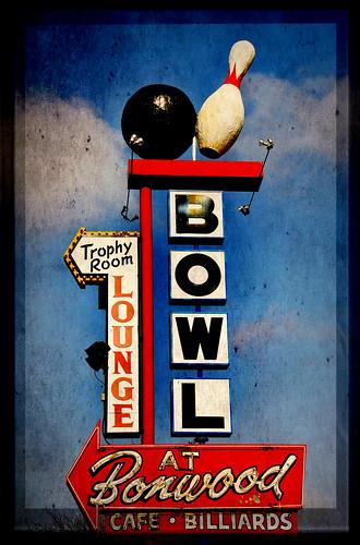 Bowling at Bonwood texture
