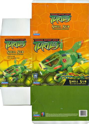 Teenage Mutant Ninja Turtles :: SHELL SUB.. box i  (( 2003 ))