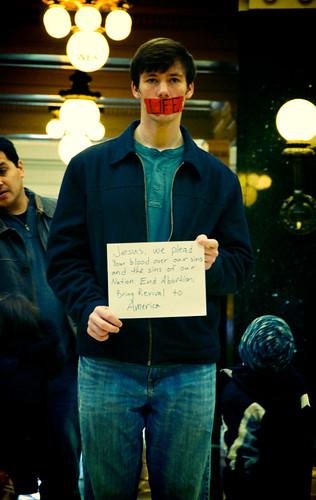 Anti-Choice Protest
