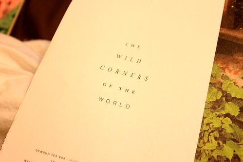 the wild corners of the world
