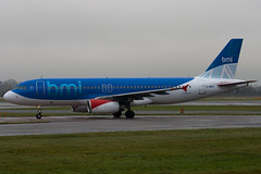 G-MIDY - 1014 - British Midland Airways BMI - Airbus A320-232 - Manchester - 081126 - Steven Gray - IMG_2946