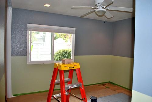 Room Half-Way Painted