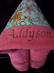 Hooded Towel w/ fabric hood (spiritofgiving) Tags: kitchen towels