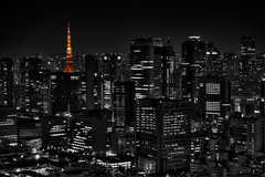 Tokyo tower at night (Sprengben [why not get a friend]) Tags: street city wedding sky urban music bus art clouds skyscraper observation gold bay harbor amazing cool asia waves ship nightshot artistic taxi gorgeous awesome watch elevator style divine international stunning metropolis charming foreign fabulous engaging travelphotography mywinners d3s sprengben 3dimensionional
