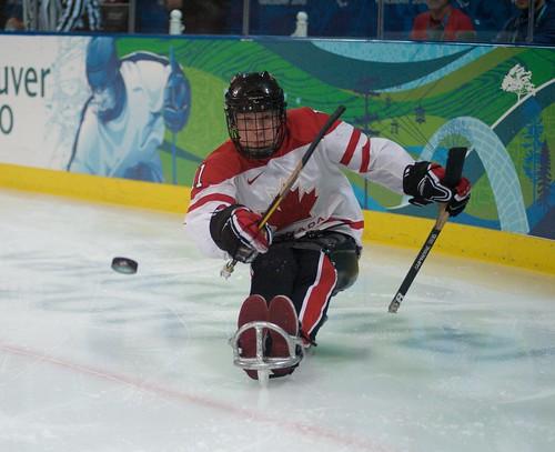 Bronze Medal Sledge Hockey