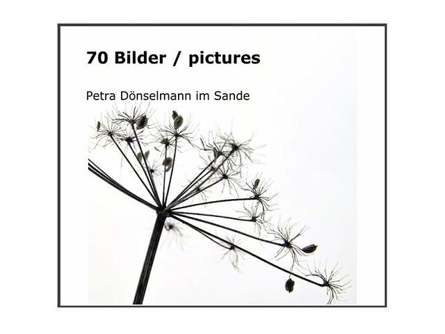 """my first book: """"70 Bilder / pictures"""""""