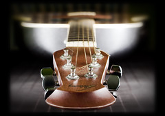 Acoustic guitar (Vicco Gallo) Tags: celebrity studio dof bokeh guitar acoustic string setup product speedlight tabletop ovation acousticguitar strobist