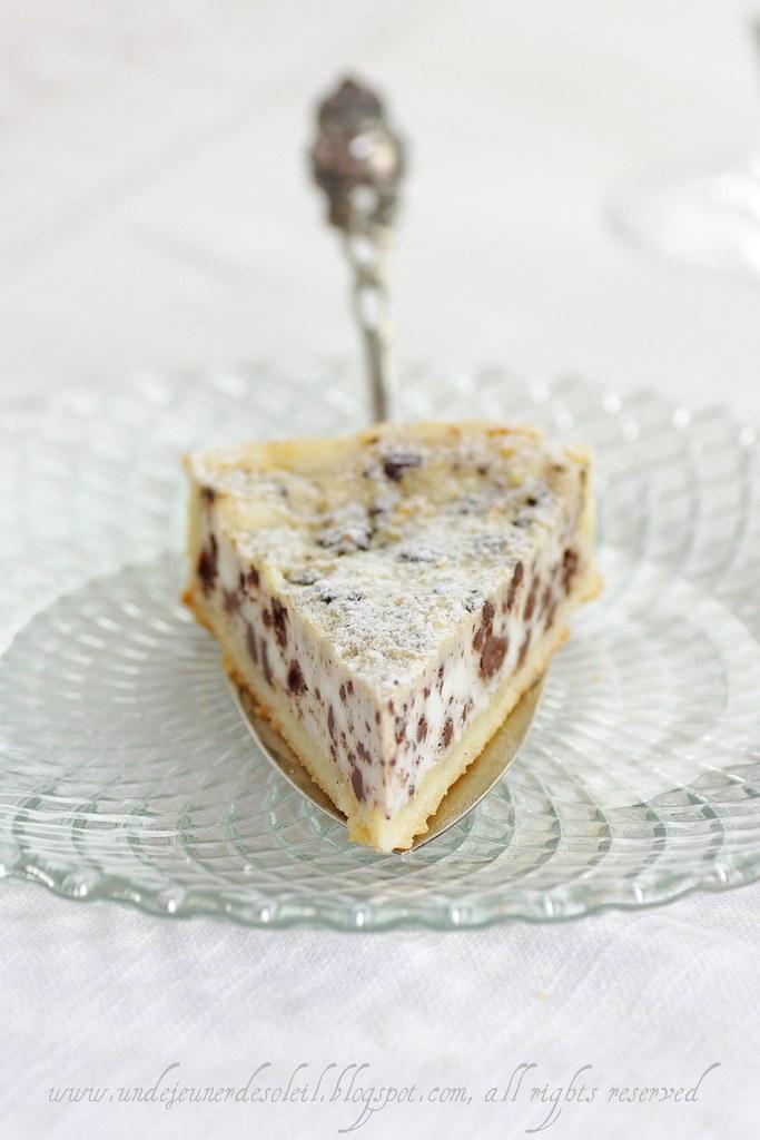 Tarte italienne ricotta chocolat recette