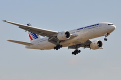 Air France - Boeing 777-200 - F-GSPL - John F. Kennedy International Airport (JFK) - November 3, 2009 269 RT CRP