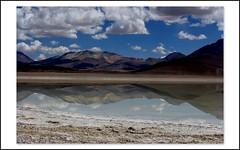 (vaallpo....) Tags: parque bolivia nubes espejo reflejo montaas lagunablanca