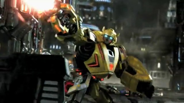 Screenshot Transformers War for Cybertron Bumblebee