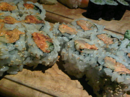 NAMI Restaurant - Spicy Tuna & Spicy Scallap Rolls