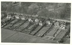 swanland0001 (Jay_Ell) Tags: aerialphoto eastyorkshire swanland swanland1960s