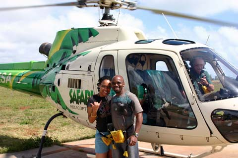 Safari Helicopter Ride