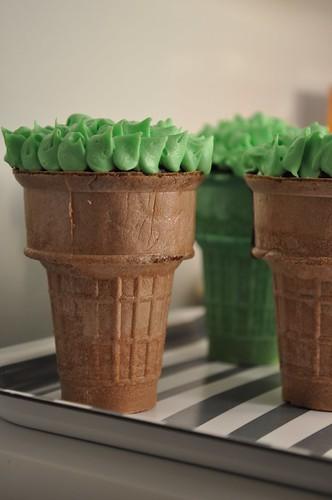 Tree Cupcakes!