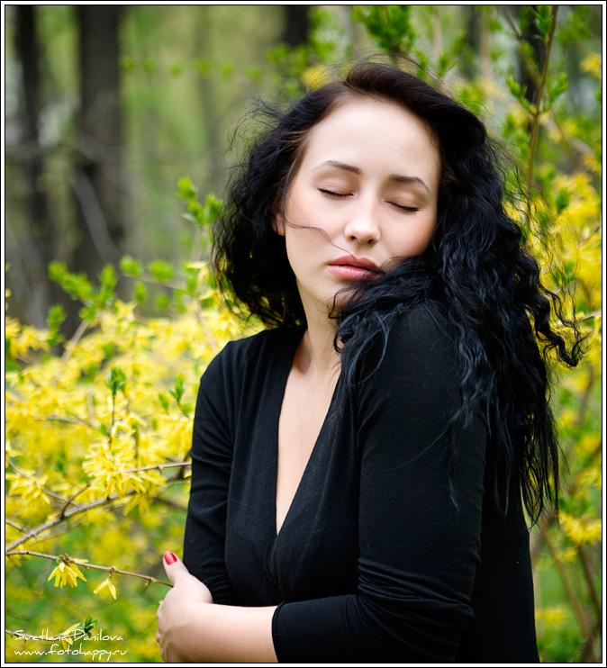 девушка, красота, весна, портрет, фотограф Светлана Данилова