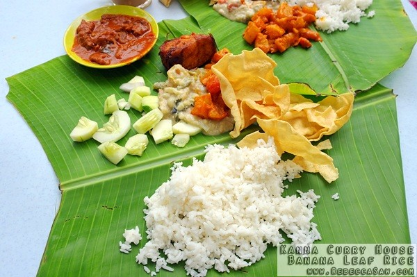Kanna Curry House - Banana Leaf Rice-0