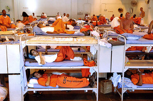 Inmates in California prison system where a recent U.S. Supreme Court ruling requires the release of 30,000 prisoners. California has a huge number of men and women incarcerated. by Pan-African News Wire File Photos