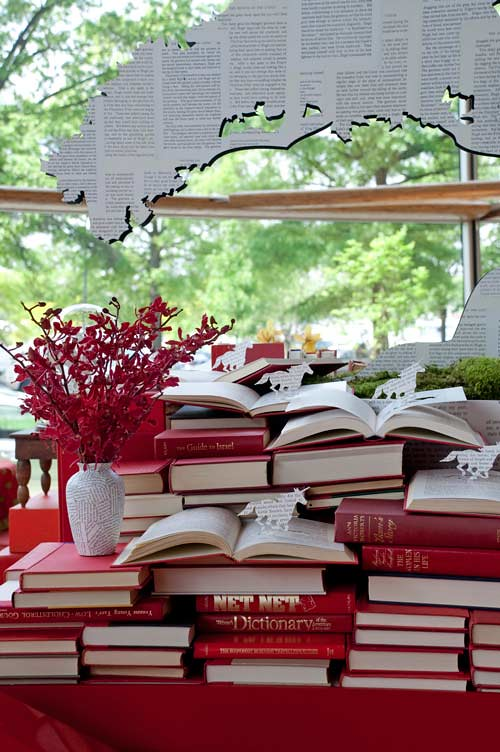 Red-David Stark Book Party via DesignSponge