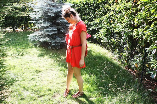 robe newlook corail