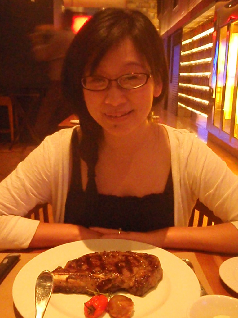 Michael Mina's StripSteak - Rib Eye Steak