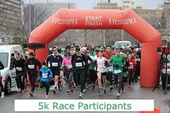 2014 St. Patrick's Day Races, Ottawa - 5k participants, pictures