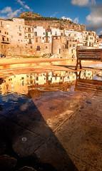 Cefalù (Michele Naro) Tags: cefalù sicily sicilia sizilien sicile sea see samyang14mmf28 mare madonie italien italy italia italie iamnikon nikond80 nikon