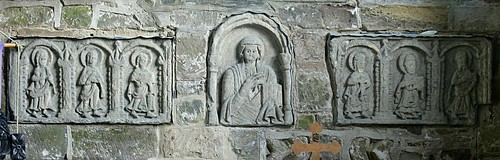 Anglo Saxon stone carving - Breedon-on-the-Hill