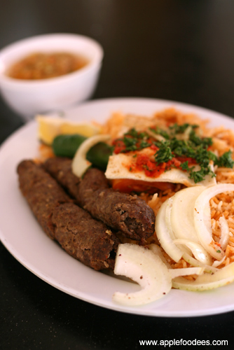 Lamb Kebab Rice