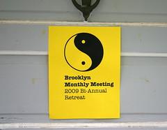 Brooklyn Retreat sign