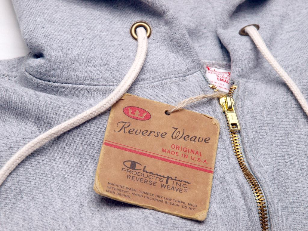 Champion / Reverse Weave Zip Hood Sweat Made in U.S.A.