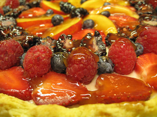 Fruit Tart Pic, image c/o Your Veganesse