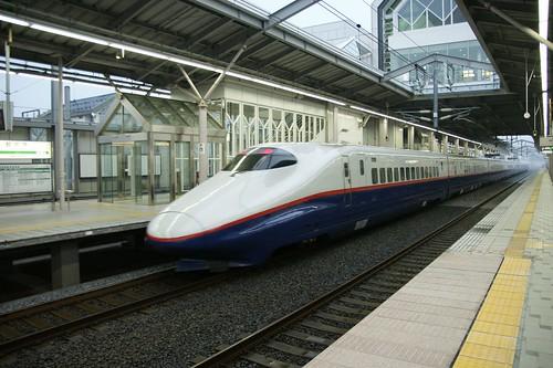 Nagano Shinkansen at Karuizawa Station
