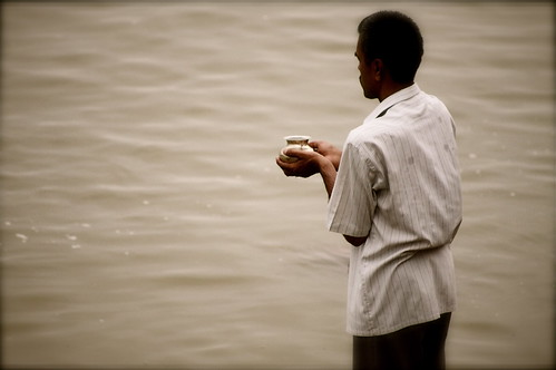Morning Offerings To Mother Ganga