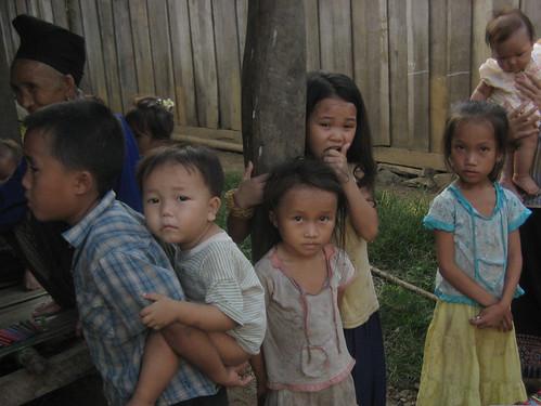 Hmong Village near Luang Prabang