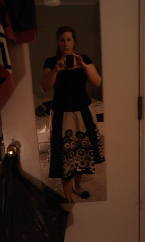 retro skirt!