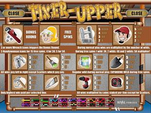 free Fixer Upper slot mini symbol