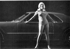 1960s,Linda Vaughn with the new FWD Toronado (torinodave72) Tags: girl golden linda nascar firebird miss vaughn pure shifter hurst nhra