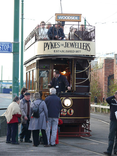 Tram in Birkenhead