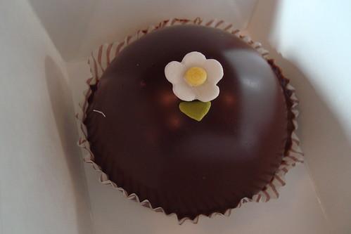 Scharffen Berger Cake at Miette
