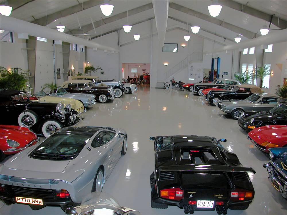 Custom Garage Floors Images Modern Interior With