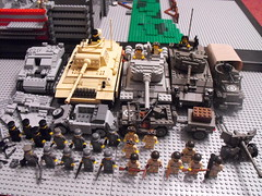 BrickMania's Sponsorship (PizzaMovies Productions (PMP)) Tags: fall us stand tank united we german american soviet ba russian panther troops m4 sherman divided baps prototypes t34 stug brickarms pizzamovies brickmania