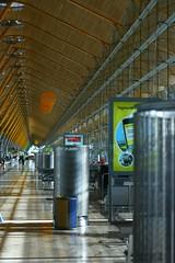 terminal (mattjfleet) Tags: travel architecture airport spain richardrodgers madris canon400d madridbarajasinternationalairport