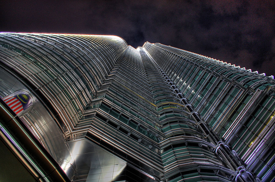 Petronas Twin Towers (HDR)