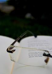 Ya no soy poeta, ahora soy feliz (Mariano Rupérez) Tags: glasses libro books gafas melancolía reflexión poesía